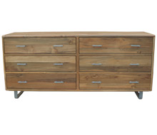 Arrondi Six-Drawer Dresser
