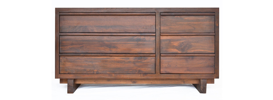 Klasik Six Drawer Seni Dresser