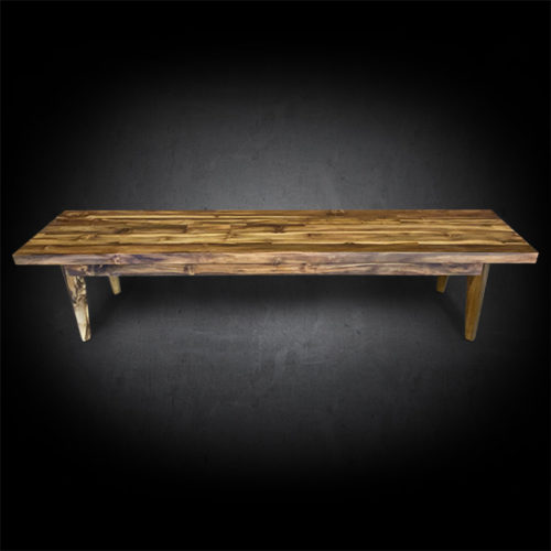 Our Modern Belleni Dining Bench Available In Multiple Sizes Handcrafted Reclaimed Teak Wood