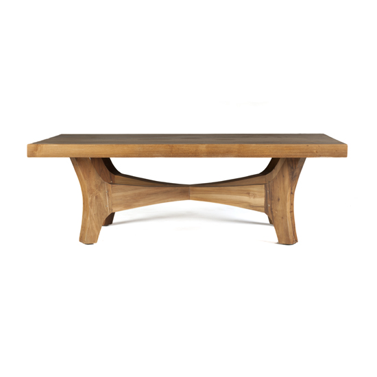 Our Garrick Cocktail Table highlights the natural beauty of reclaimed teak and the classic, timeless midcentury design.