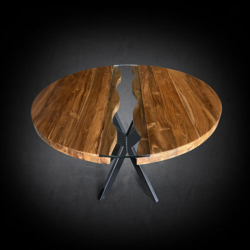 Tides Modern Round Dining Table