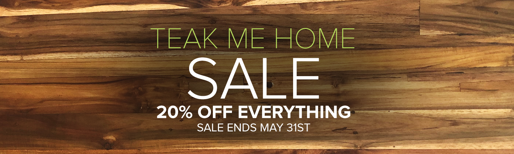 20% Off Everything Sale