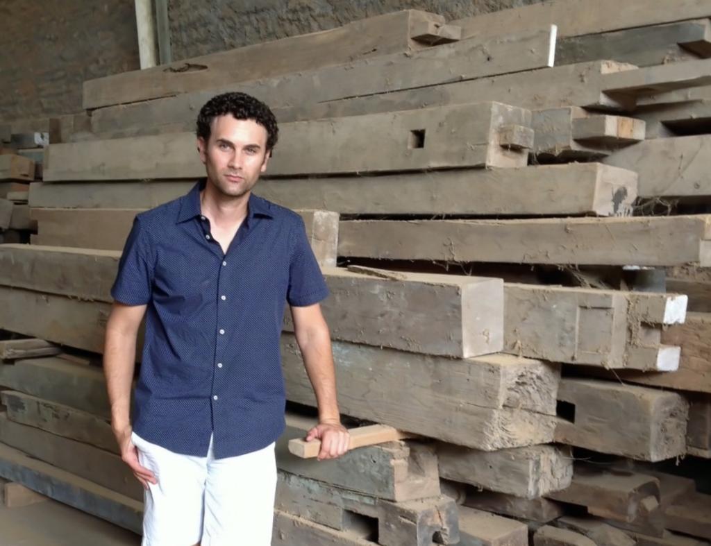 Teak Me Home's Founder & Furniture Designer Alex Elsinga