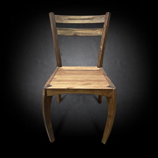 Sorresto Dining Chair Handcrafted Reclaimed Teak Wood